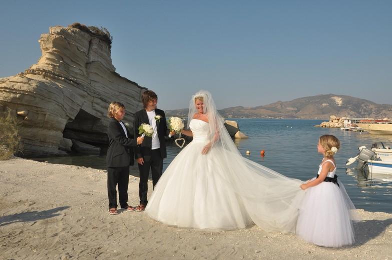 civil wedding ceremony zante dream weddings